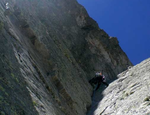 PIRINEOS: espolón Oeste Pic de Lezat + Gran diedro Pic des Spigeoles
