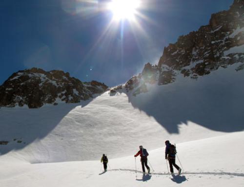 PIRINEOS: Carros de Foc con esquís
