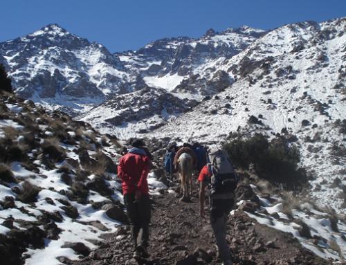 MARRUECOS. Trekking y ascensión al Toubkal