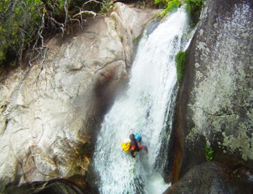 Gredos. Descenso de Barrancos en el valle del Jerte.