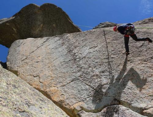 Vías de escalada con historia en La Pedriza