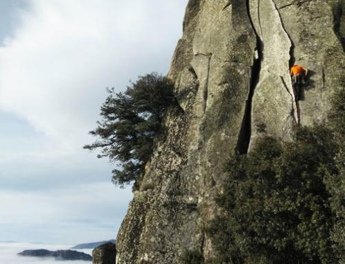 LA CABRERA: Pico de la Miel y sus mejores vías