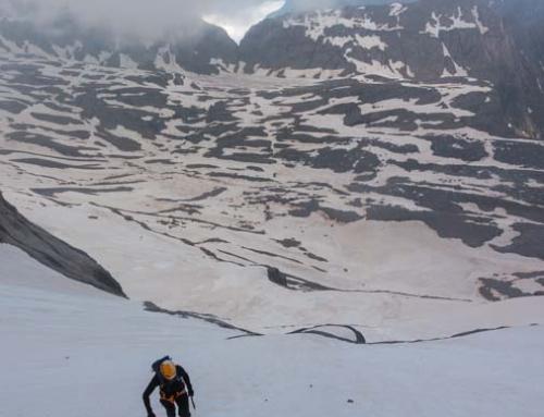 MONTE PERDIDO: Cara Norte, el último gran recorrido glaciar.