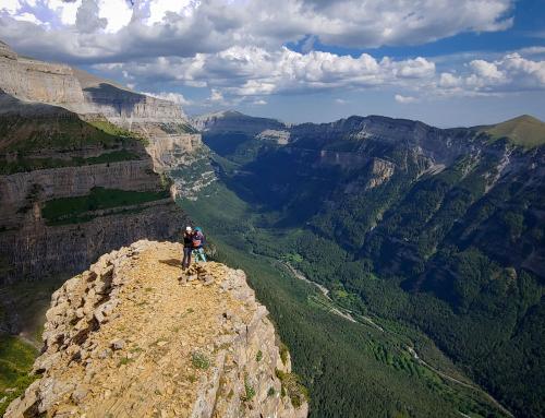 ORDESA: escalada clásica de aventura